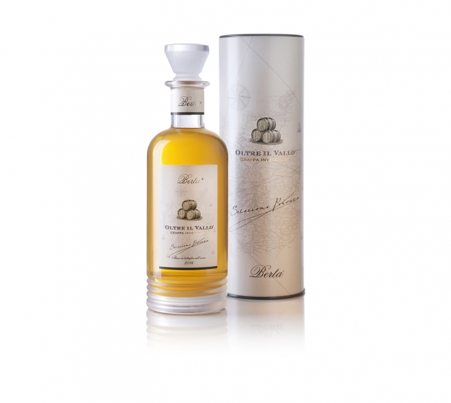 Berta - Oltre il Vallo - Grappa Invecchiata, Affinata in Barili di Single Malt Scotch Whisky