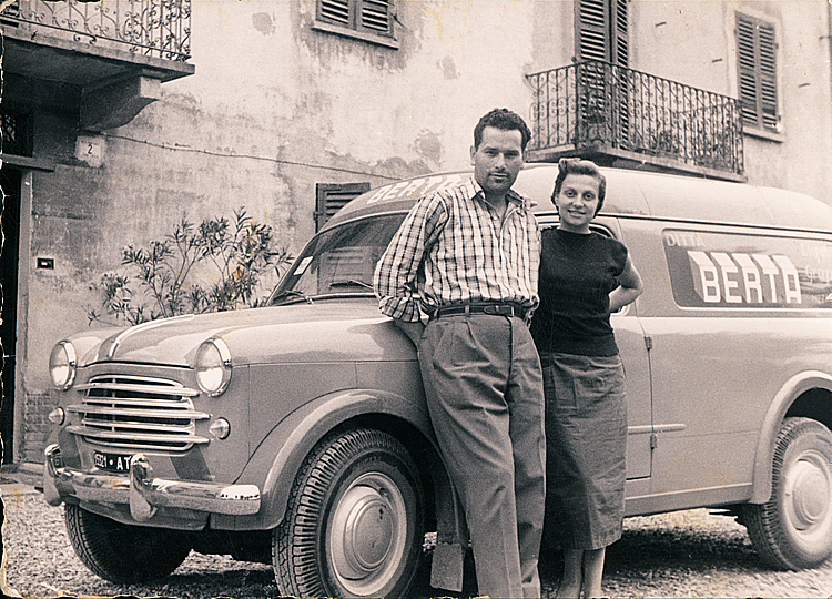 1954. Paolo and Lidia sell the Balilla for a more modern and useful means of transport.