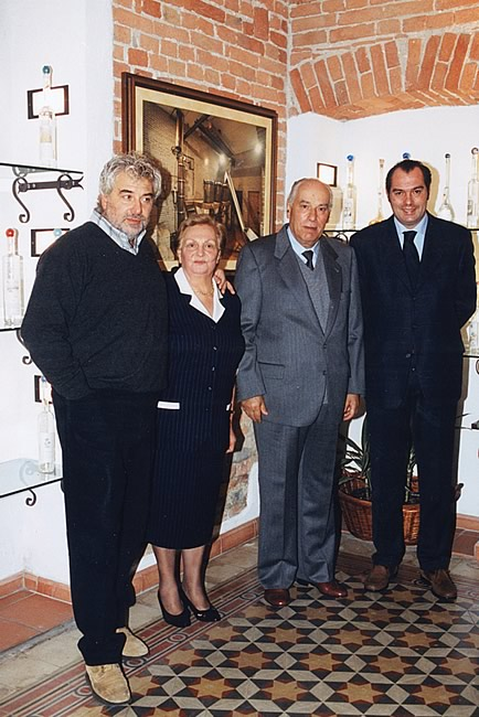 2000. Enrico and Gianfranco with Lidia and Paolo.